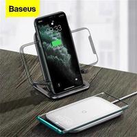 Baseus 15W Qi Caricatore Senza Fili Per iPhone 11 Pro Xs Max Veloce Wireless Pad di Ricarica Per Samsung S10 Xiao mi mi 9 caricatore ad Induzione