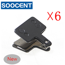 6 Pairs Bicycle Brake Pads B01S for Shimano BR T615 m355 m375 m395 m416 m446 m447 for Orion/Auriga/Draco MTB Disc Brake