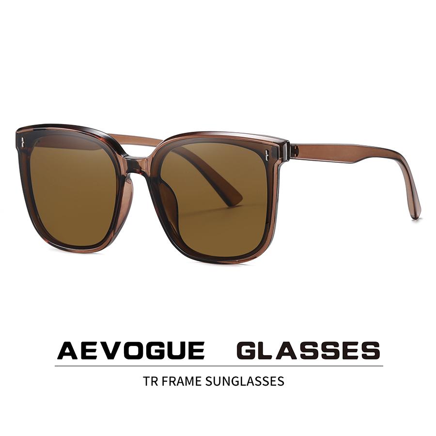Fashion big frame sunglasses trend street ultraviolet anti ultraviolet glasses nylon lens AE0971
