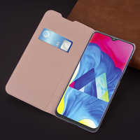 Slim Wallet Case For Samsung Galaxy M10 M 10 SM-M105F M105G M105Y Phone Sleeve Bag Flip Cover With Card Holder Business Purse