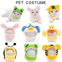 Accesorios para mascotas, sombrero para mascotas de animales de dibujos animados, diadema para fiestas de Halloween