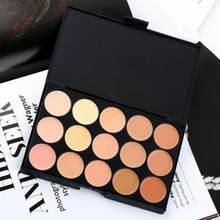 Corrector de 5 colores, paleta de camuflaje correctora permanente, maquillaje Profesional