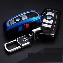 حلقة مفاتيح سيارة BMW ، غطاء جلدي ، F30 ، F10 ، F30 ، F20 ، سلسلة X3 ، X4