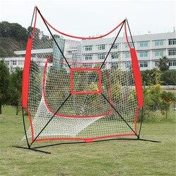 Professionale Palla Da Baseball di Supporto Portatile Softball Battuta Tee Regolabile Nozioni di Base di Formazione Pratica gear Formazione Colpire Netto