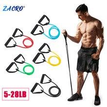 Zacro Yoga çekme halatı direnç bantları spor elastik bantlar Fitness ekipmanları kauçuk genişletici egzersiz ev jimnastik salonu egzersiz eğitimi