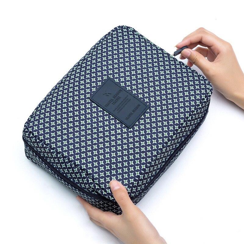 Fashion Multi-function Travel Cosmetic Bag Female Cosmetic Bag Toiletries Storage Bag Waterproof Female Storage Cosmetic Case