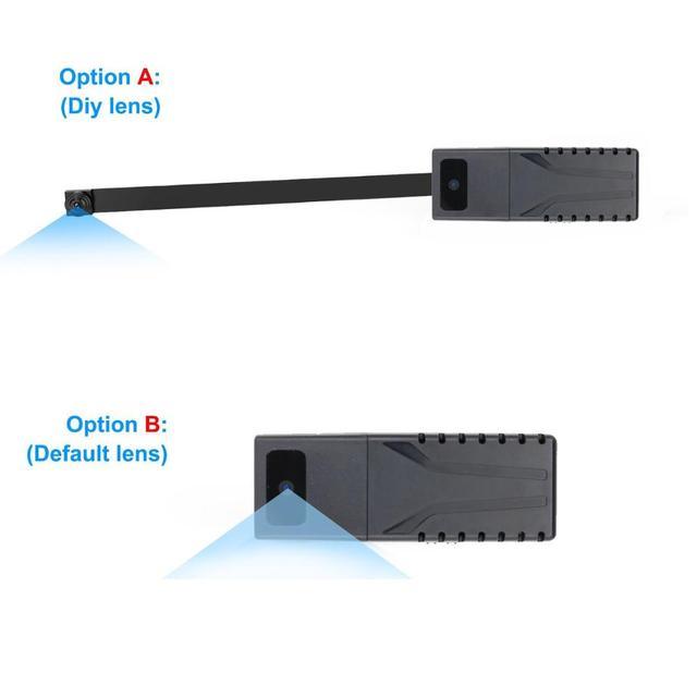 JOZUZE HD 720P DIY Portable WiFi IP Mini Camera P2P Wireless Micro webcam Camcorder Video Recorder Support Remote View TF card 2