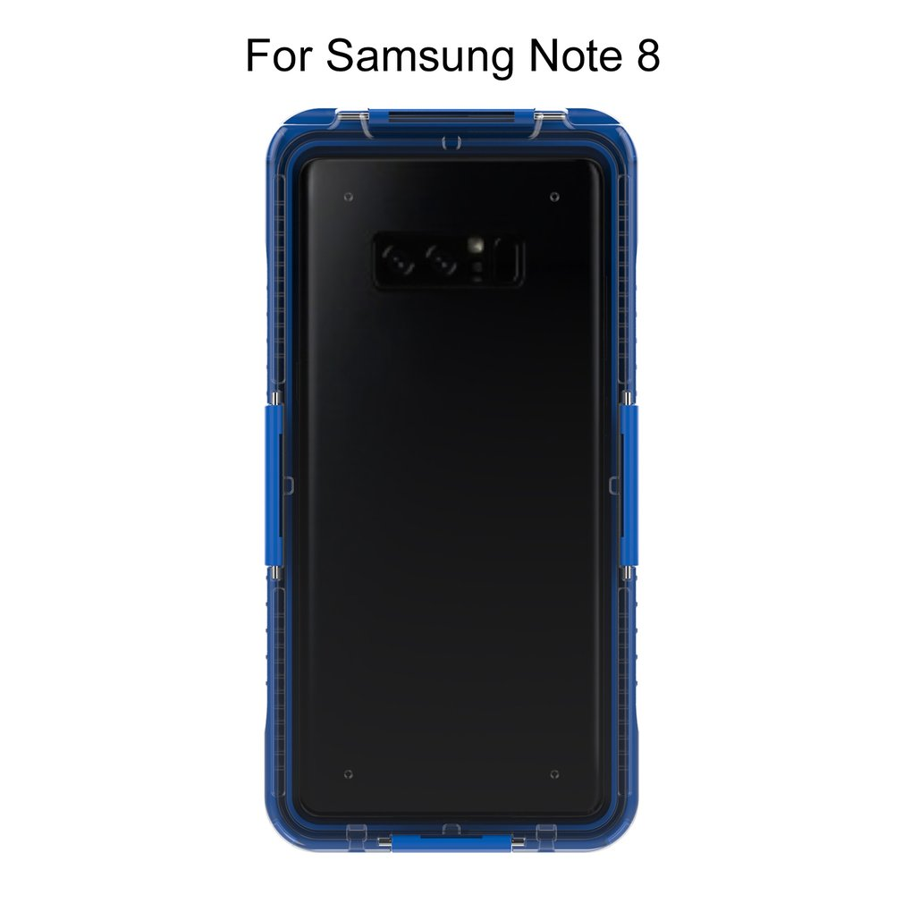 Waterproof Phone Cases for Samsung Galaxy S8 S8 Plus Full Protective Silicone Case for Samsung Note8 Shockproof Phone Cover Capa