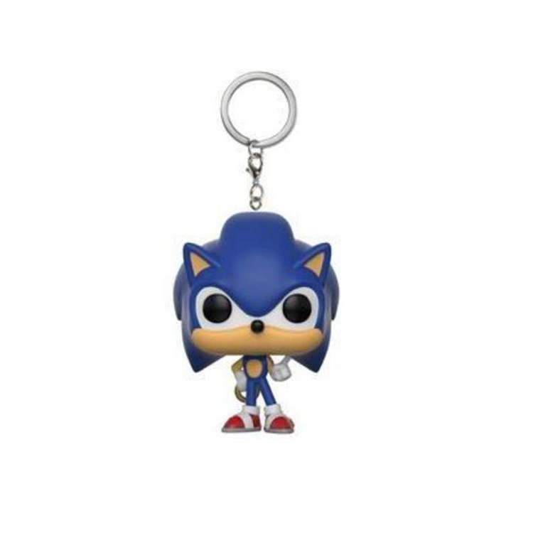 Funko POP Pocket Pop Keychain Super Sonic Hedgehog Garage Kit Doll Ornaments Model Game Relate Collectible Toys For Children
