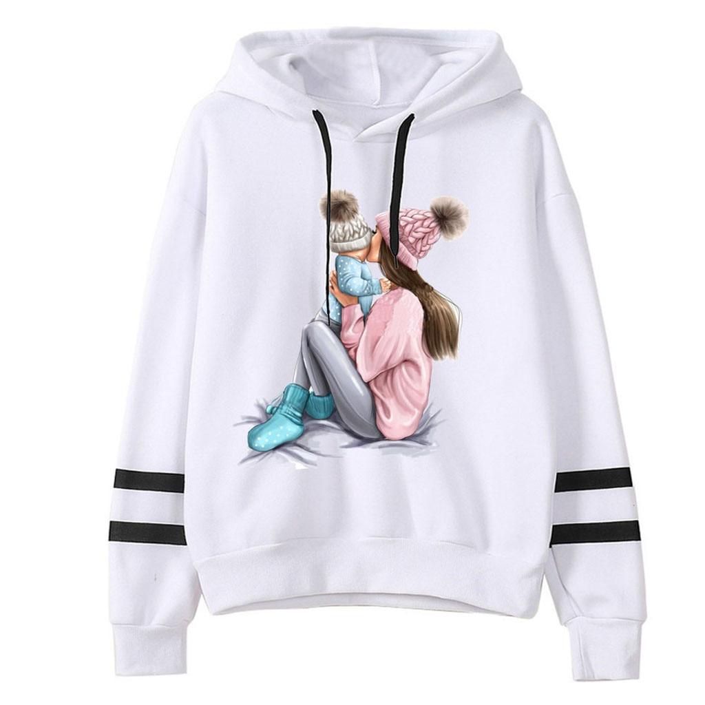 Jaycosin 2020 Fashion Autumn Women Loose Thanksgiving Print Sweatshirt Stylish Long Sleeve Comfortable Casual Pullover 104#10