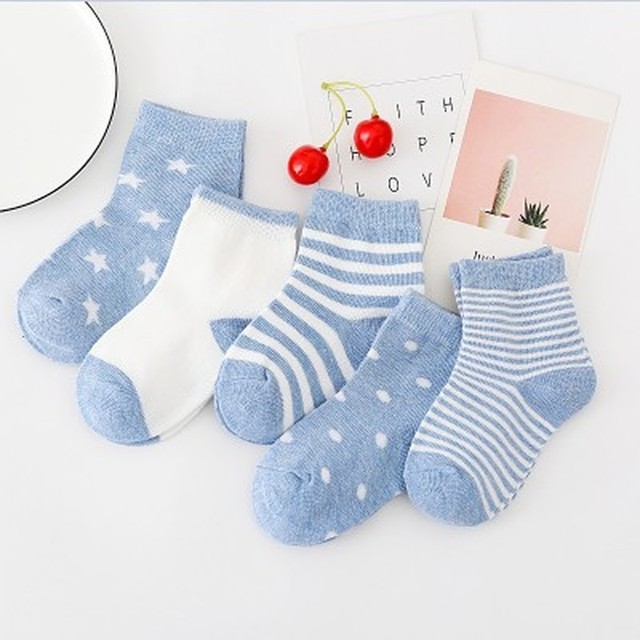 Durable Striped Socks 4