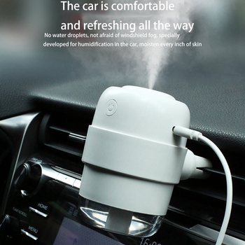 Car humidifier Essential Air Diffuser Mini USB Humidifier Purifier ultrasonic Aromatherapy Ionizer netic