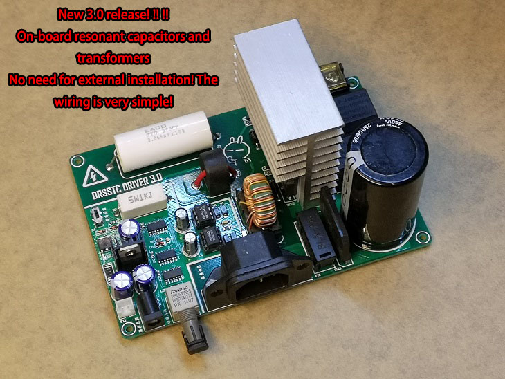 Integration DRSSTC Driver Board Transistor Dual Resonant Music Tesla Coil (driver Board Only)