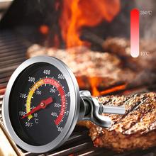 Grill piekarnik Grill temperatura żywności wskaźnik temperatury termometr piekarnika mięso termometr do grillowania do gotowania w kuchni tanie tanio CN (pochodzenie) Thermometer Piekarnik termometry Gospodarstw domowych termometry Metal Dial