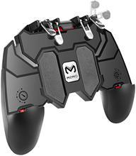 PUBG mobilny kontroler do gier Joystick z kluczami obrotowymi do gier FPS na IOS Android uniwersalny 6 palców