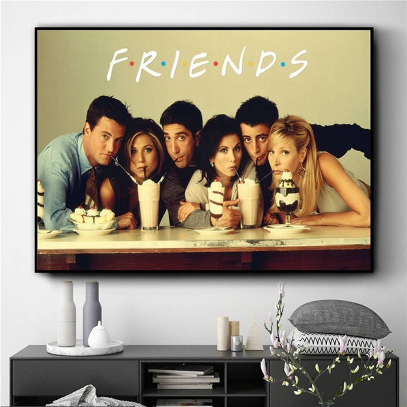 Friends Décoratif Ornement TV Series Cadre Photo