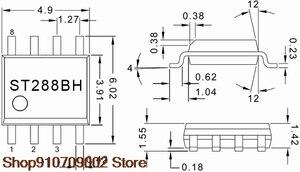10 шт. ST288A оригинальная трубка приема и передачи, фотоэлектрический переключатель, Датчик Холла