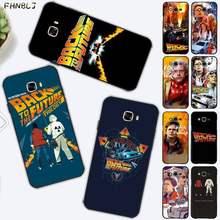 FHNBLJ film zurück in die zukunft Telefon Fall Abdeckung für Samsung J6 J7 J2 J5 prime J4 J7 J8 2016 2017 2018 DUO core neo