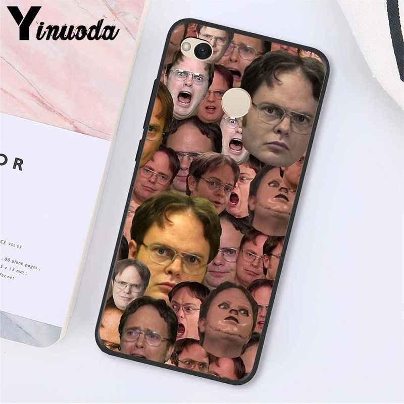 Yinuoda Kantor TV Menunjukkan Apa Yang Dia Bilang Phone Case untuk Xiaomi MI5 6 A1 A2 Lite Mi9 9SE Mi8lite f1 Mix2 2S Max2 3