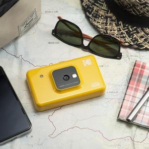 Image 3 - コダック C210 インスタント 2 1 デジタルカメラでミニショットアップグレード版ソーシャルメディアポータブルフォトプリンタ液晶表示色プリント