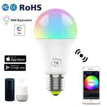 Led-Lamp-Bulb Wifi Alexa Smart-Light with Google Home AC100-240V Work Cool E27 RGBCW