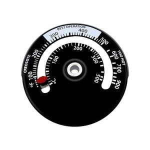 Imã quente-tipo fogão termômetro fogão a lenha pizza forno forno forno medida de 0 a 500 graus termômetro aquecedor caldeira