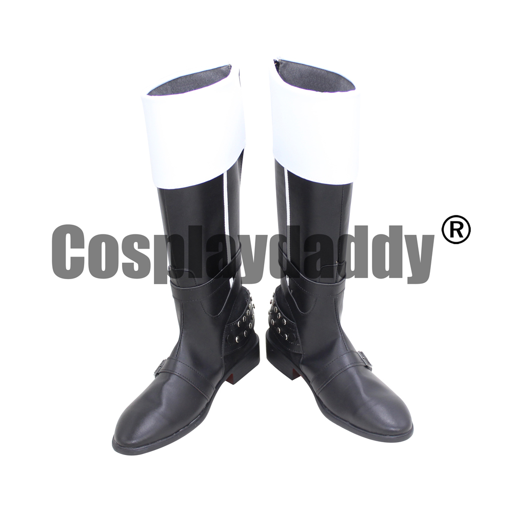 Final Fantasy XV Fifteenth FF 15 Dawn of the Future Protagonist Prompto Argentum Game Halloween Cosplay Shoes Boots X002 image