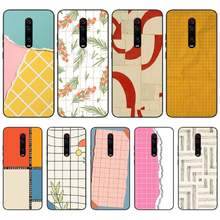 OFFeier Simple grid Soft Silicone TPU Phone Cover For Redmi K20 Note4 4X 5 5A 6 6PRO 7 8 8PRO Cover(China)