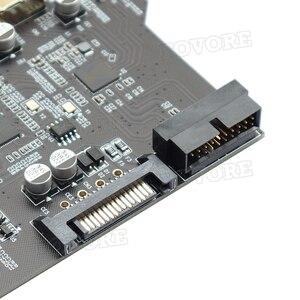 Плата расширения PCI Express PCI-E на USB 3,0, 5 портов + 1 порт USB 3,0