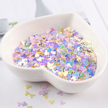 Monkey Head Ice Cream Mixed Colors Nail Sequins For Craft DIY Wedding Decoration Clay Filler Nail Art Stickers Slice Decorations