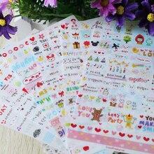 Kids Stickers 3D Puffy Cute Lovely Sticker for Girl Boy Birthday Gift Toys Children