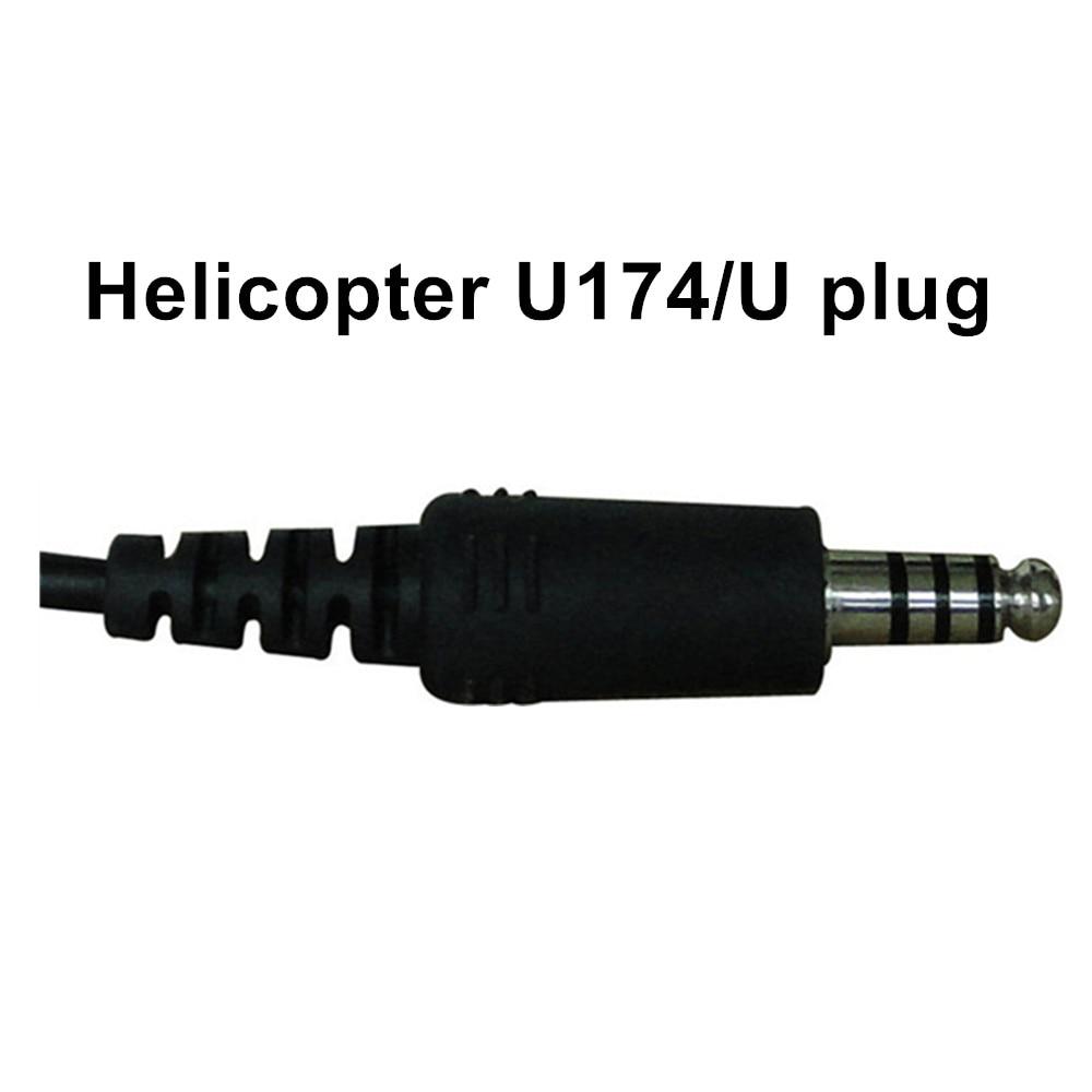 Quiet as ANR! NEW UFQ in-ear type aviation headset UFQ L-1 Super Light Weight