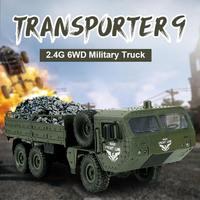 JJRC Q75 RC Car 1:16 2.4Ghz Radio Control Car Military Car Off road Rock Crawler RC Vehicles Toys for Boys Gifts vs HG P801 P802
