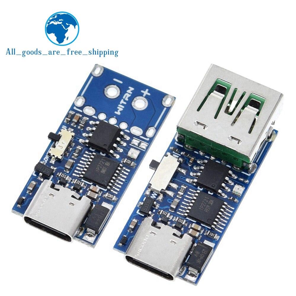 Type-C USB-C PD2.0 PD3.0 to DC Spoof Scam Быстрая зарядка триггерный опрос-детектор USB-PD блок питания блока питания, модуль замены платы