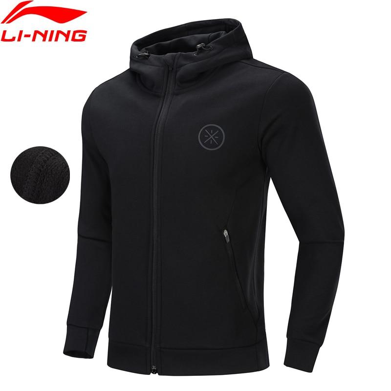 Li-Ning Men Wade Basketball Hoodie WARM SHELL Fleece 72% Cotton 28% Polyester Li Ning LiNing Sports Sweater AWDP585 MWW1620