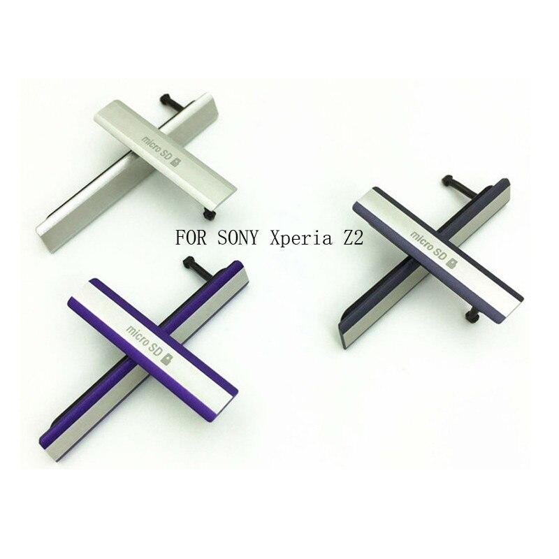 Пылезащитный чехол Z2 Micro SD + SIM + USB-порт для зарядки вставляется в USB для SONY Xperia Z2 Пылезащитная заглушка