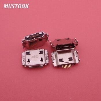 50 Uds. Original nuevo N7000 I9220 S8000 S5630 S7230 S5830 S8300 puerto de carga Micro USB para conector USB Samsung
