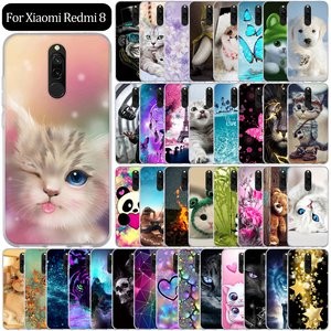 Case For Xiaomi Redmi 8 Case Silicone Soft Back Cover For Xiaomi Redmi 8 Cover Redmi8 Phone Case Funda Coque Bumper Protective