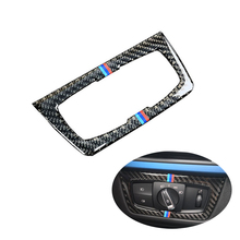Car Headlight Switch Button Decorative Frame Cover Trim For BMW 3 4 Series GT F30 F34 2013-2018 Car Styling Modified Stickers car headlight switch button decorative frame cover trim for bmw 3 4 series gt f30 f34 2013 2018 car styling modified stickers