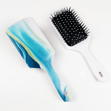 New Marble Hair Massage Comb Professional Anti-static Women