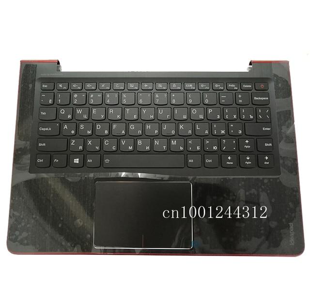 Rosyjski nowy oryginalny dla Lenovo ideapad 510S-13 510S-13ISK 510S-13IKB górna obudowa do opierania dłoni ramka na klawiaturę pokrywa 5CB0L44973