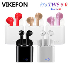 i7s Tws Bluetooth 5.0 Earphones Mini Wireless Earbuds Sport Earphone Cordless Headset with Microphone for iPhone Xiaomi LG Phone