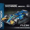 Технический эксперт, Суперскоростной автомобиль чемпионов, строительные блоки F1, Гоночная машина, модель автомобиля, детские игрушки, авто...
