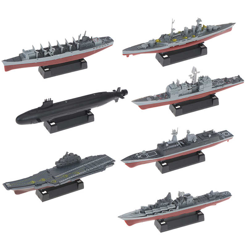 4D מורכבת דגם ליאונינג קרב מודרני קרב כיתה נושאת מטוסי מודל צבאי מודל ספינת צעצוע