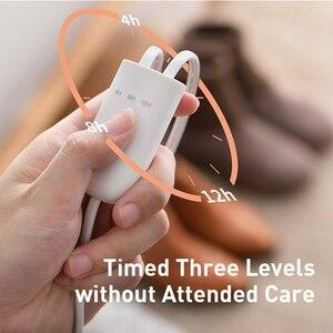 Image 3 - Baseus 200 فولت حذاء مجفف سخان Secador مزيل الروائح جهاز إزالة الرطوبة جهاز تدفئة القدمين سخان لشتاء الأحذية آلة رف الأحذية