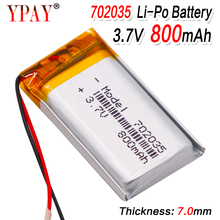 цены Polymer lithium ion battery 3.7V 702035 can be customized wholesale CE FCC ROHS MSDS quality certification
