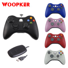 عصا تحكم Joy لاسلكية لـ Xbox 360 2.4G عصا تحكم للوحة التحكم لـ Xbox360 منصات ألعاب وحدة التحكم للوحة اللعب للكمبيوتر