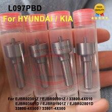 4PCS L097PBD Common Rail Injector Nozzle L097PBC Diesel Sprayer L097PRD For HYUNDAI Terracan 33800 4X500 EJBR02801D EJBR00901Z