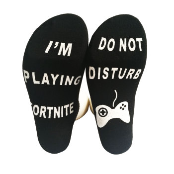 Fortnites Adult Socks Sports Stocking Breathable Letter Print Socks Girl Boy Football Sports Socks Fashion Men Street Clothes 2