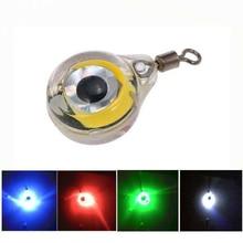 Light Fishing-Bait Squid Underwater-Eye-Shape Luminous-Lure Attracting-Fish for LED Deep-Drop